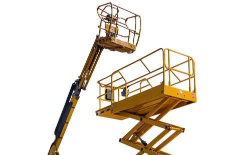telehandler, telescopic boom platform