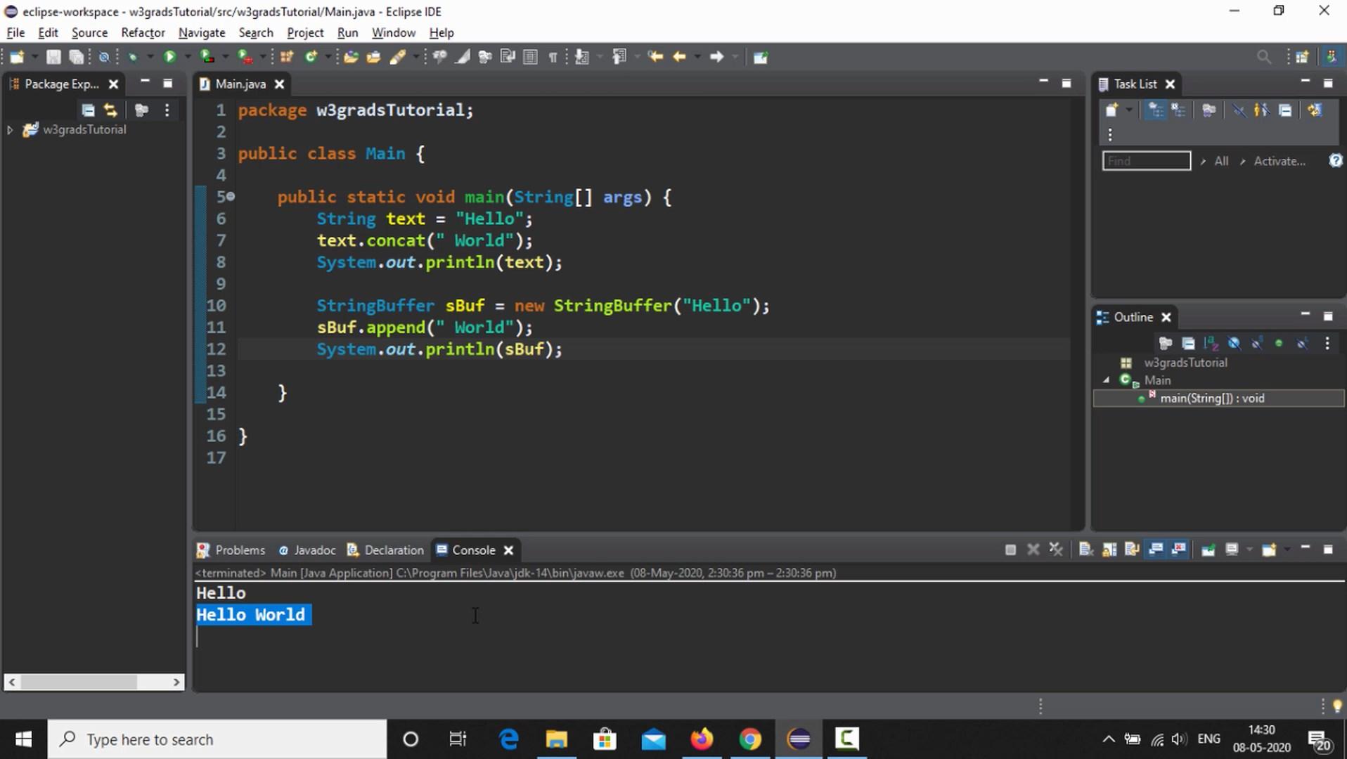 StringBuffer and StringBuilder in Java