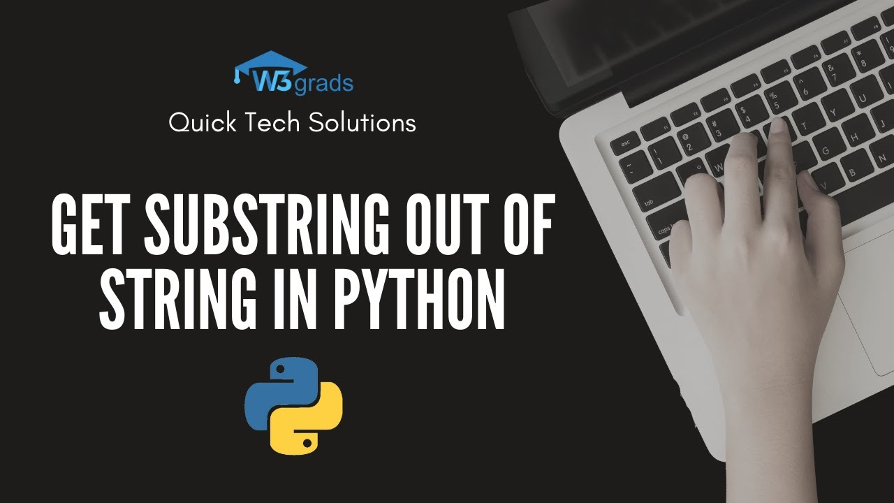 Get substring out of string in Python
