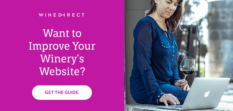 improve your winery website