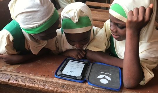 Worldreader Wine Direct Al Waleed School Ereader