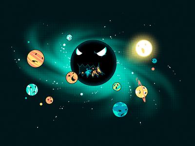 The Black Holem41 Detail