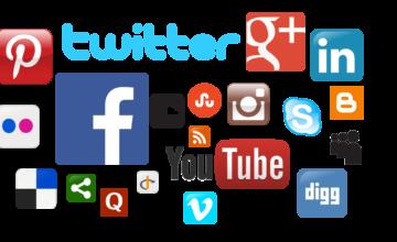 Too many social links?
