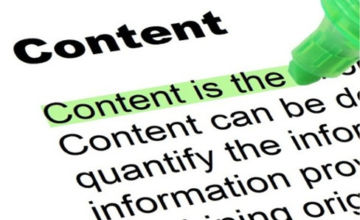 Who takes care of the content?