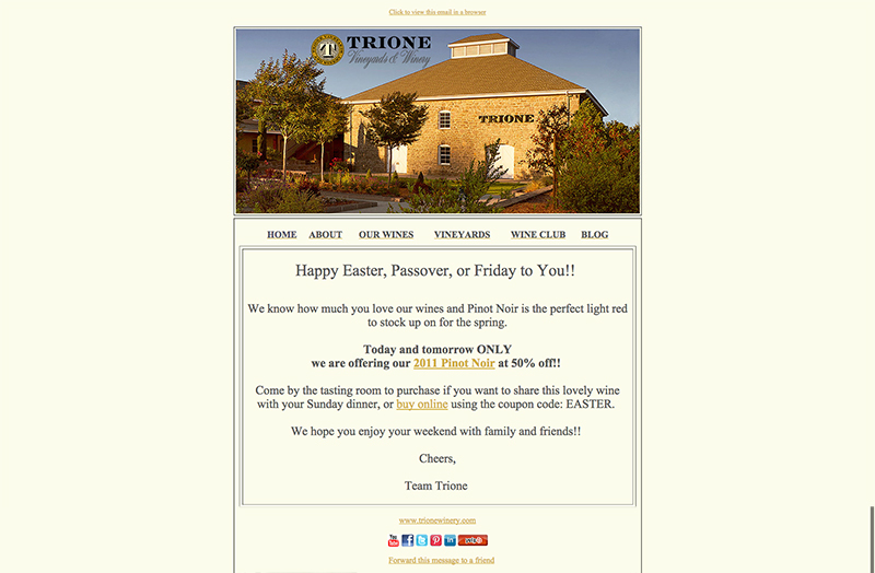 Trione Email