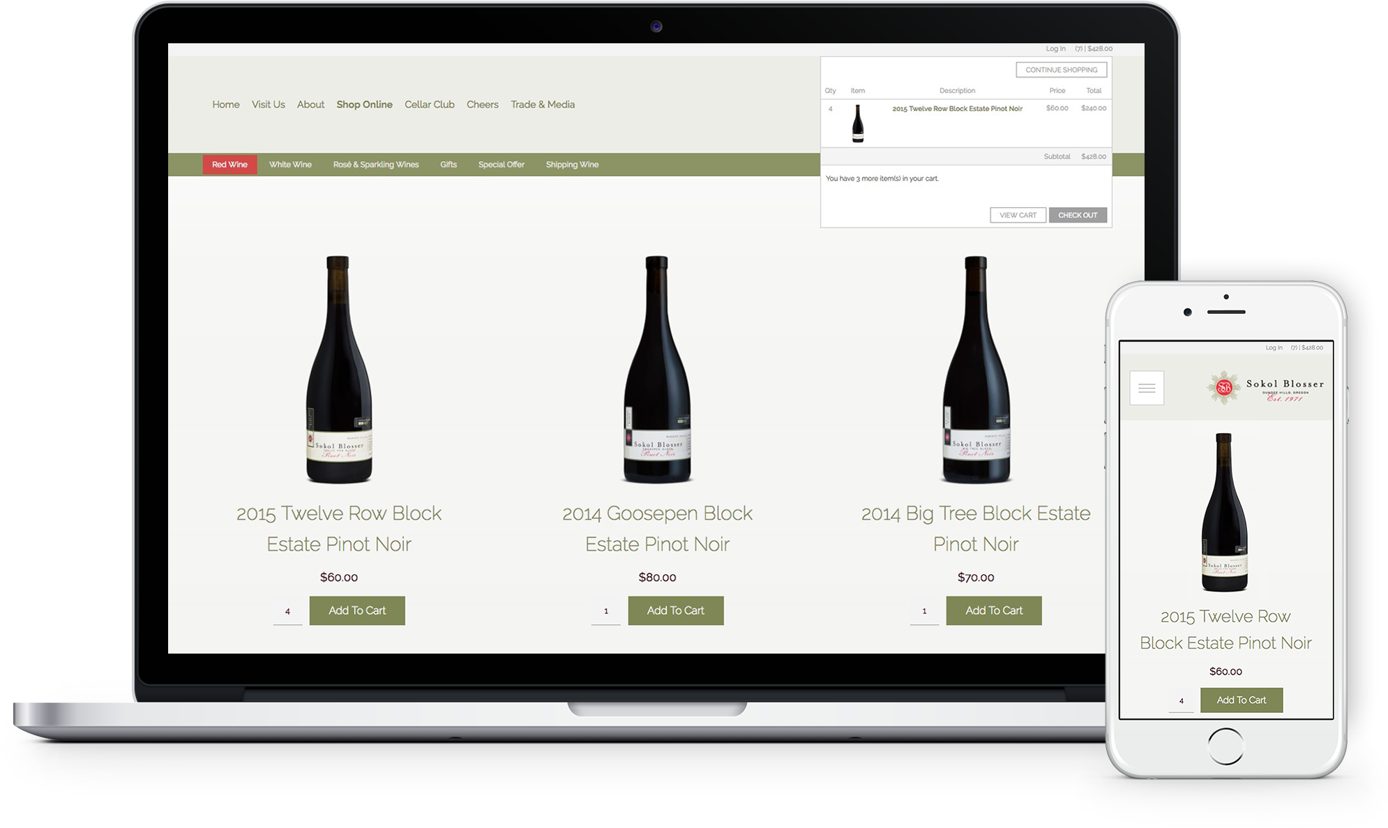 Winedirect Shop Your Website