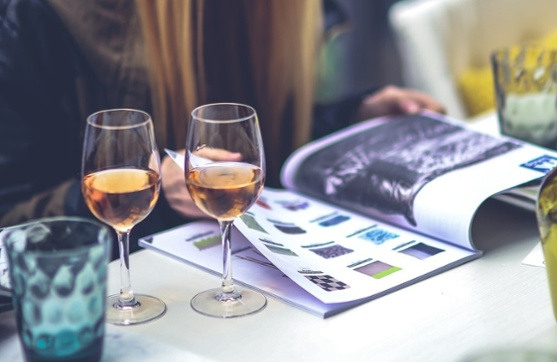 Woman Girl Teenager Wine Large