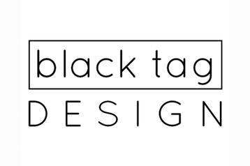 Black Tag Logo