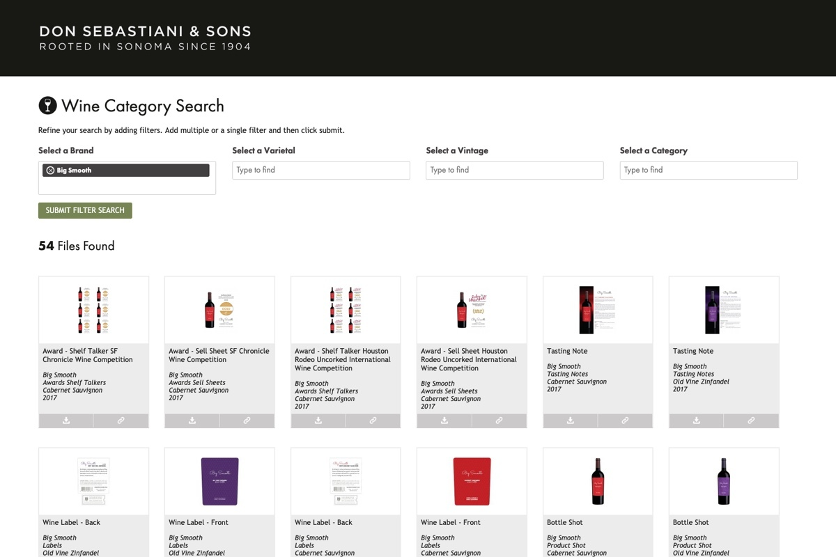 Don Sebastiani 3 Category Search Brand Daylight