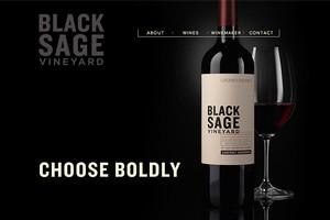 Vin65 Designers Cfnapa Brand Design Black Sage Vineyard