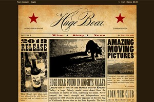 Vin65 Designers Firefly Creative Company Huge Bear Wines