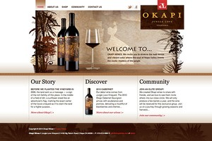 Vin65 Designers Wine And The Web Okapi Wines