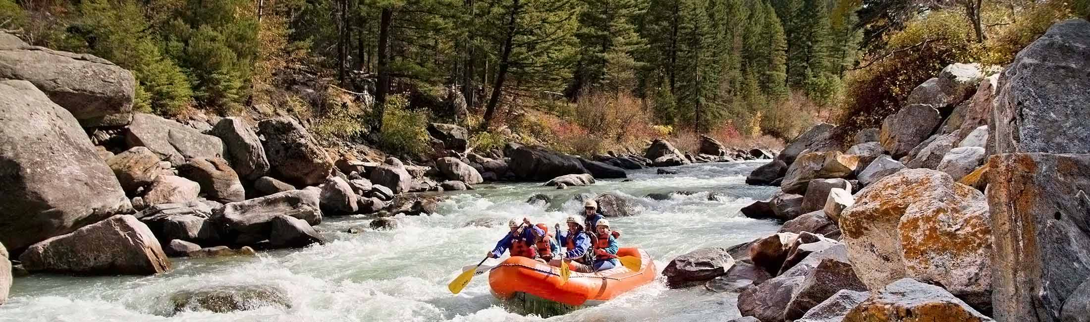 Rafting and Boating