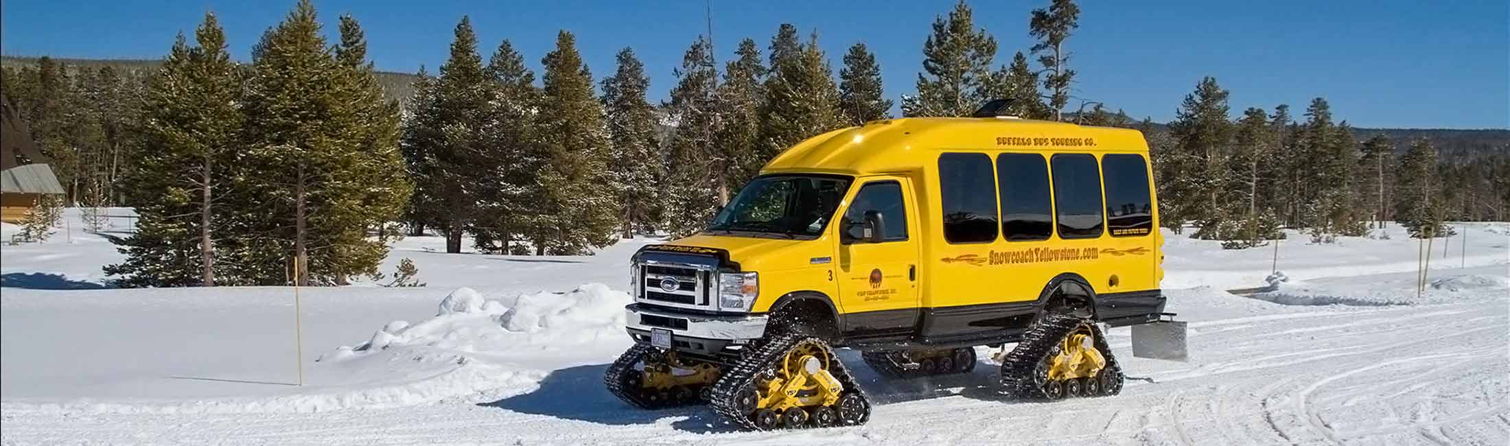 Snowcoach Tours