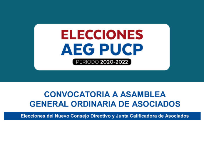 Convocatoria a Asamblea General Ordinaria de Asociados
