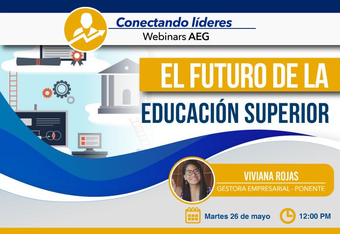 Webinar AEG: El futuro de la educación superior
