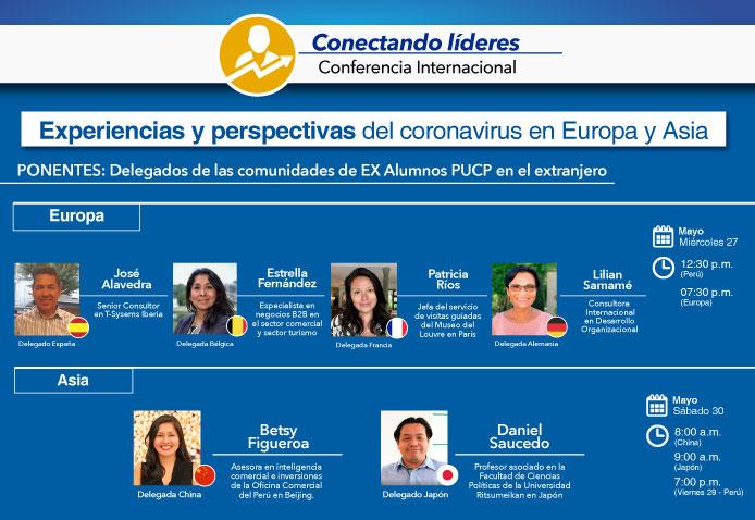 Participa de nuestras conferencias internacionales