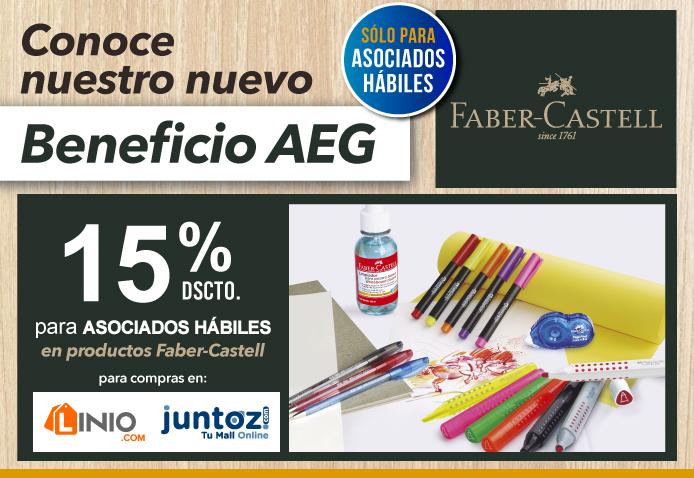 Nuevo Beneficio AEG: Faber-Castell