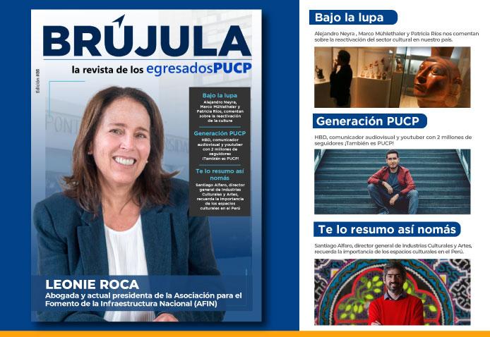 Lee la nueva edición de nuestra revista Brújula