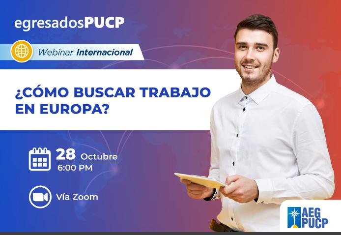 ¿Quieres saber los tips para conseguir trabajo en Europa?