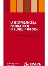 La efectividad de la política fiscal en el Perú: 1980-2006