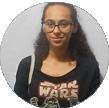 Ana Flávia, aluna da Faculdade Censupeg.