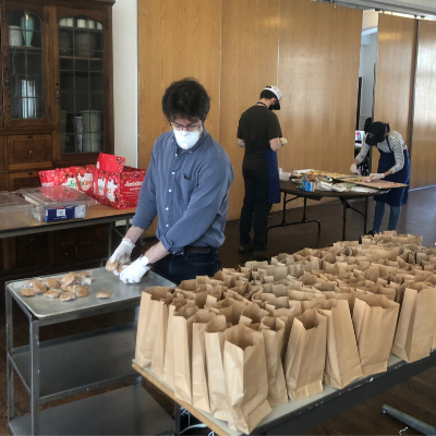 Bowery Mission Meal Prep + 'volunteer opportunity'