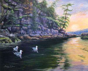 Sunshine-Coast-Lund-BC-Debbie-Salmon