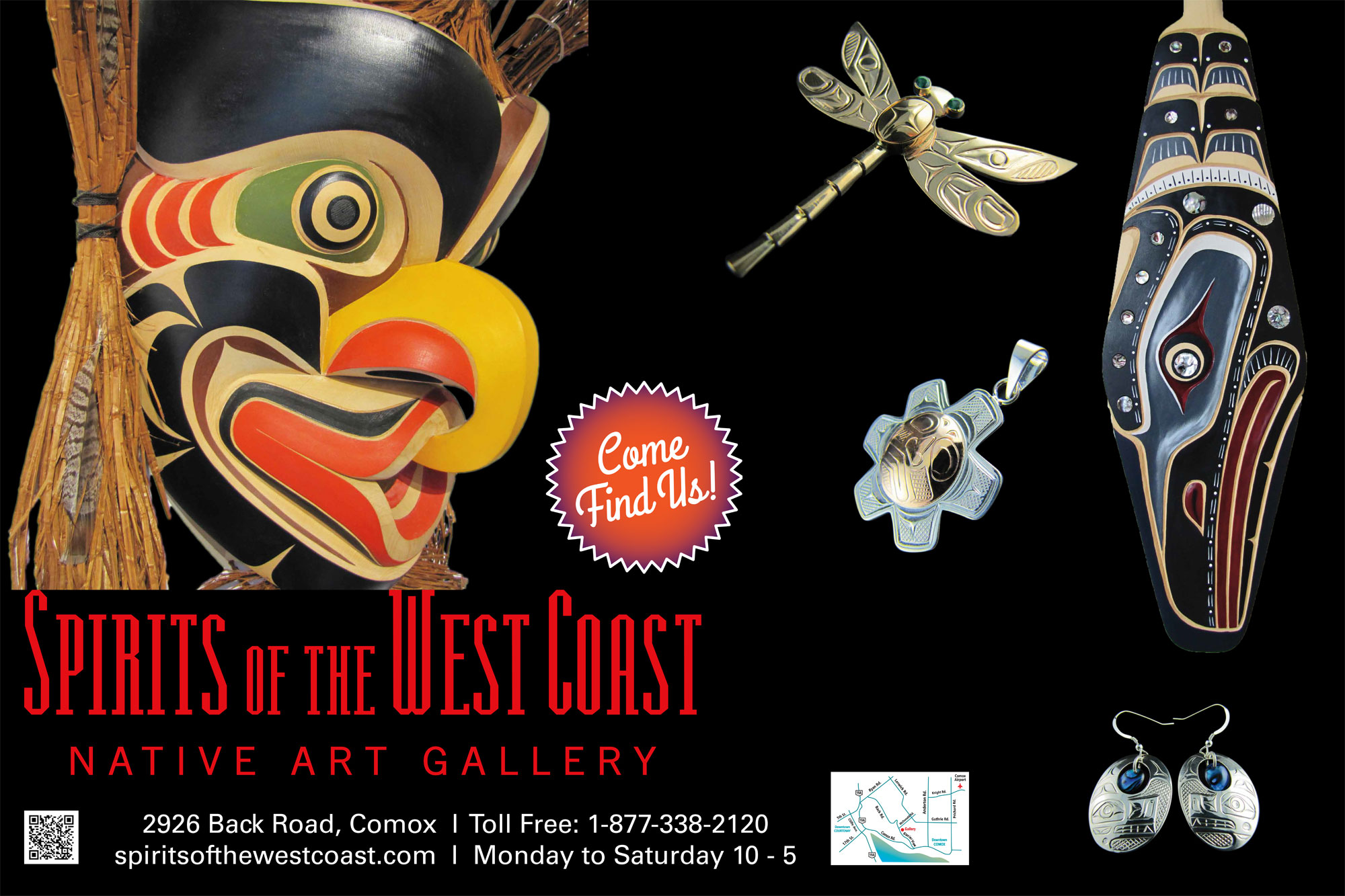 Spirits of the West Coast Native Art Gallery
