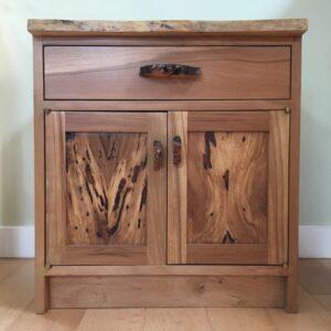 arbutus/maple cabinet