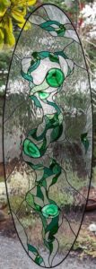 Freedom Stained glass panel - Jan's Glass by the Sea