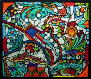 Pure Joy Mosaics - Jan's Glass by the Sea