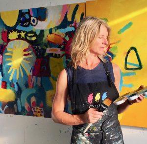 Lupine Art Studio - Courtenay artist