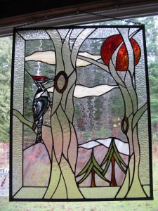 Patti Wilson's Stained Glass Studio - Courtenay artist