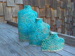 Lilac Sun Pottery - Denman Island artist