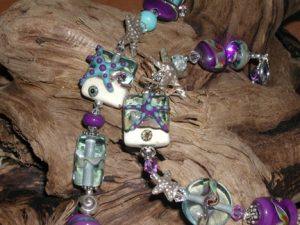 Creative Spirit Glass bead Studio - Fanny Bay artist