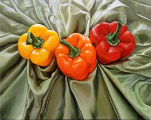 Peppers at Sea  16 x 20""
