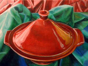 Red Tagine  9 x 12""