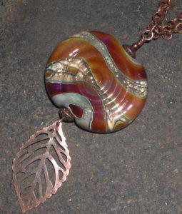 creative spirit-Ivory,Ehko spirial with leaf ( AC )