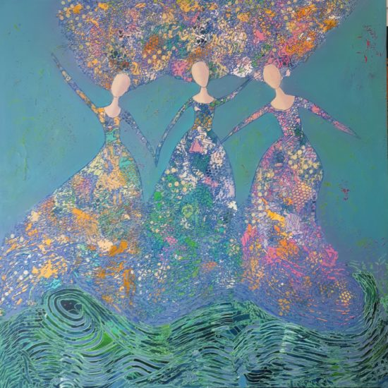 Lois Goodnough Art Studio_Water Dancing
