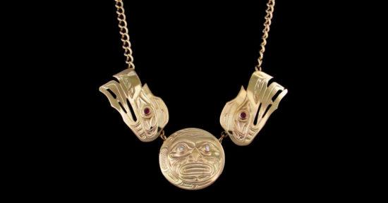 ihos-Raven Moon Necklace-william-barr