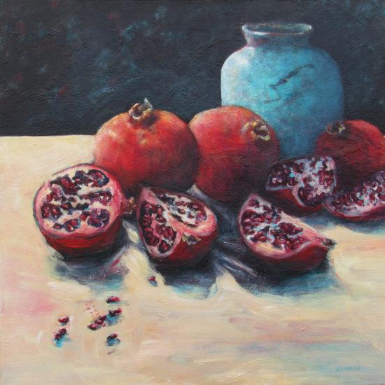 67_StMarie_Pomegranates-&-Blue-Pot_1960