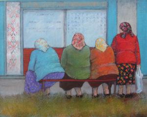 Fay St Marie Art Studio 3