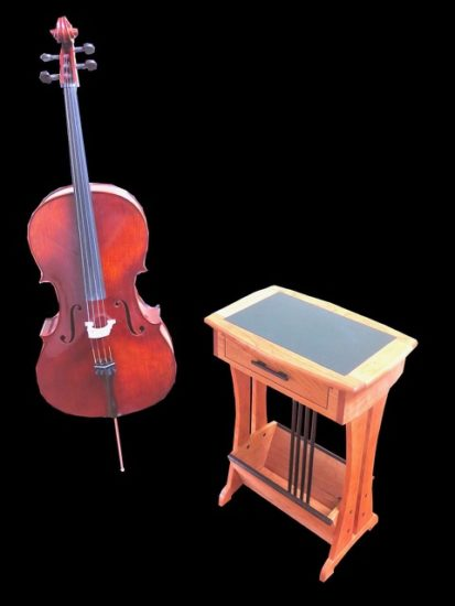 Sandpiper Side Table for a Cellist