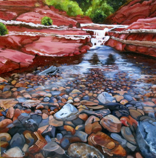 Red Rock River bed Elissa Anthony