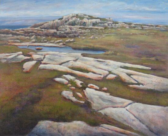 StMarie,F,Fogo Island Rockscape,34x42,Acrylic