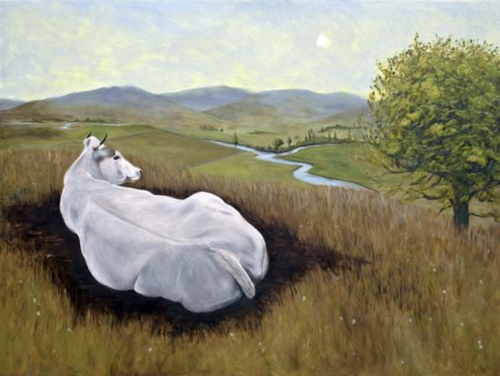 BALLANTYNE-Painting-of-a-cow