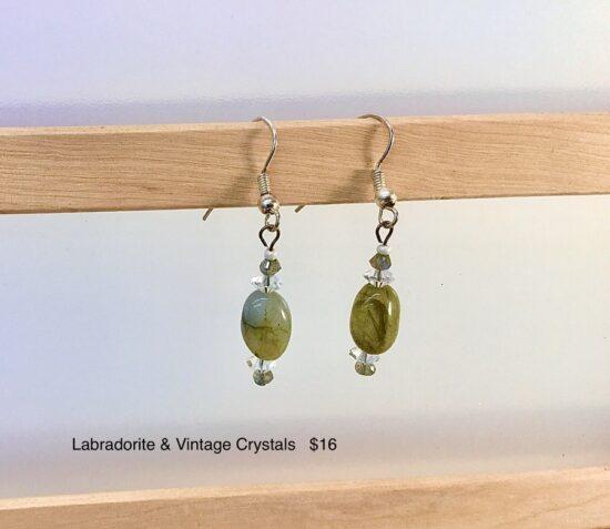BellaStyle Jewelry-Cindy Monahan Labradorite earrings