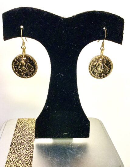 BellaStyle Jewelry-Cindy Monahan Button Earrings