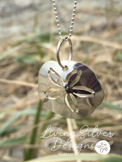 LSD - sand dollar necklace